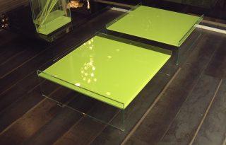 Steklene klubske mizice