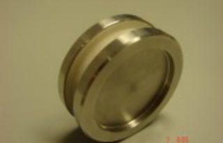 Inox okrogel ročaj za steklena vrata