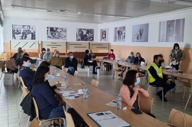 Presentation of the company in the School Center Rogaška Slatina